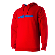 Head Club Men Byron Hoody rot 2013 Tennisbekleidung von Head