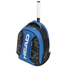 Head Elite Backpack schwarz/blau Tennisrucksack Tennistasche