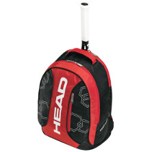 Head Elite Backpack schwarz/rot Tennisrucksack Tennistasche