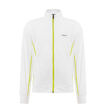 Performance Slice Knit Jacket Herren weiss/gelb  von Head