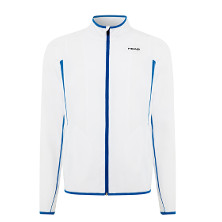 HEAD Performance Wave Woven Jacket Herren weiss-blau