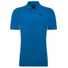 HEAD Push Poloshirt Button blau von Head