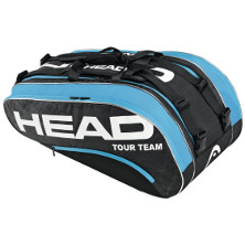 Head Tour Team Monstercombi schwarz/blau Tennistasche
