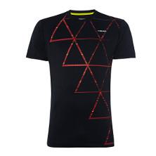 Vision Dash T-Shirt schwarz/rot von Head
