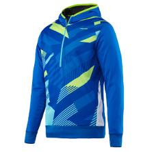 Head Vision M Coby Tech Hoody blau Tennisbekleidung