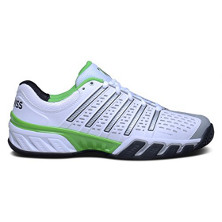 K-Swiss Bigshot 2.5 Herren Tennisschuh white/black/flashgreen