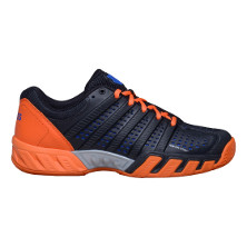 K-Swiss Bigshot Light 2.5 Herren Tennisschuh schwarz/orange