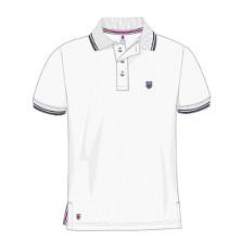 K-Swiss K Polo Herren weiss Tennisbekleidung