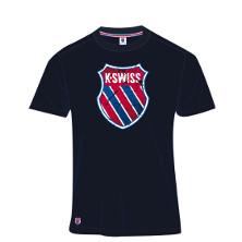 K-Swiss K Tee Herren navy Tennisbekleidung