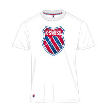 K-Swiss K Tee Herren weiss Tennis T-Shirt