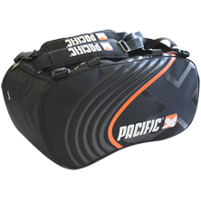 Pacific Pacific BasaltX Line Tennis Bag L in schwarz-orange von PACIFIC