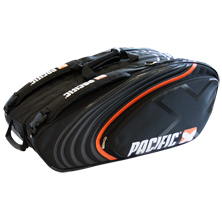 Pacific BasaltX Line Racquet Bag 2XL Thermo Tasche in schwarz-orange von PACIFIC