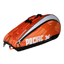 Pacific X Force Line Racquet Bag 2XL Thermo Tasche in orange-schwarz-weiss von PACIFIC
