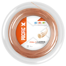 Pacific Poly Force Xtreme 200 m Rolle Polyestertennissaite von Pacific