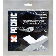 Pacific Tournament Pro Classic Gut Tennissaite von Pacific