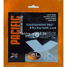 Pacific Tournament Pro Poly Gut Blend Hybrid Tennissaite von Pacific