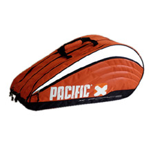 Pacific X Force Line Racquet Bag 2XL Tasche in orange-schwarz-weiss von PACIFIC
