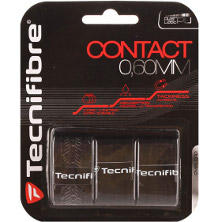 Tecnifibre Contact Overgrip schwarz 3er Griffband