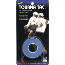 Tourna Tac 3er XL Overgrip in blau von Tourna Grip