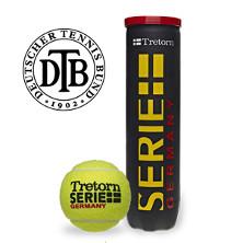 Tretorn Serie+ Germany 4er Tennisballdose gelb