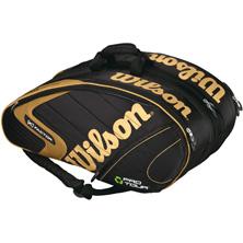 Wilson Eco Pro Tour 6 Thermal Tasche schwarz von Wilson