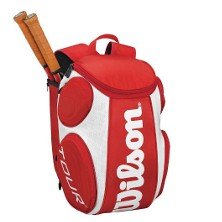 Wilson Tour Backpack rot Large Tennisrucksack Tennistasche gunstig