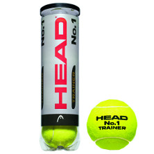 Head No. 1 Trainer 4er Dose Tennisbälle