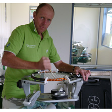 professioneller Besaitungs- und Bespannungsservice Tennis-World
